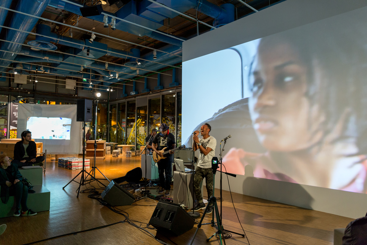 Music performance as part of Cosmopolis, image courtesy Centre Pompidou