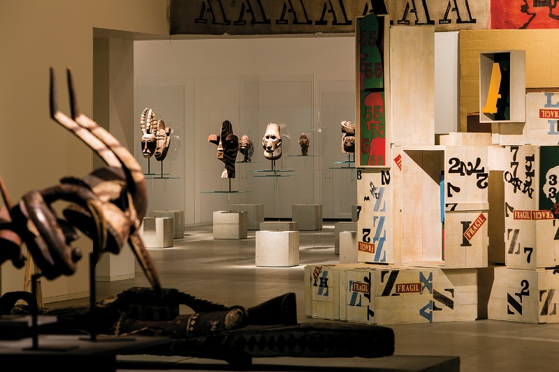"""Para além da História"" Centro Internacional das Artes José de Guimarães, Guimarães Junho 2012, CREDIT JOSÉ DE GUIMARÃES"