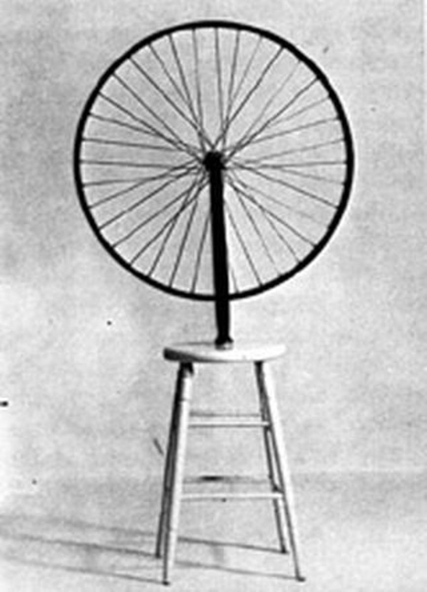 Marcel Duchamp, ready - made, wikicommons