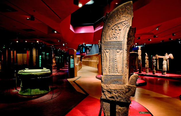 Quai Branly Museum interior view