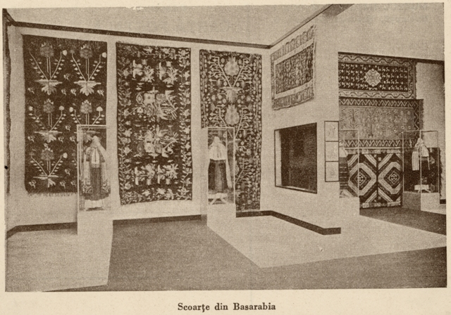 13. Exhibition in the Popular Art Museum, from The Ethnological Archive of The National Museum of the Romanian Peasant, Bucharest, collection Popular Art Museum – Photography on Paper, reference code MAP-2038, (between 1880 - 1990)