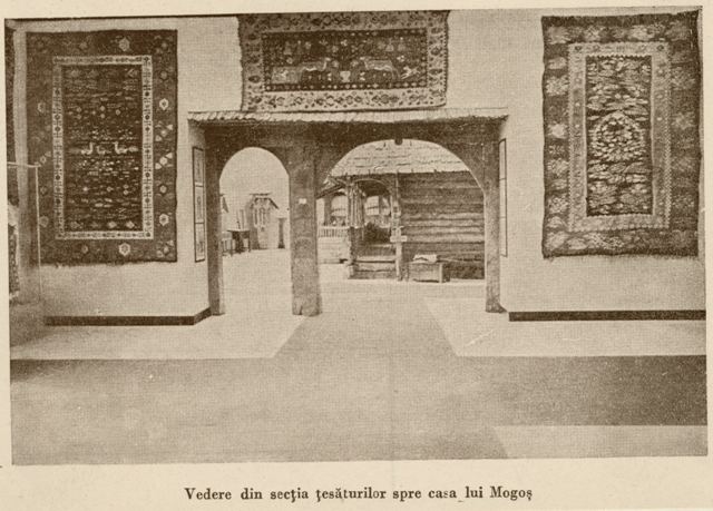 14. Exhibition in the Popular Art Museum, from The Ethnological Archive of The National Museum of the Romanian Peasant, Bucharest, collection Popular Art Museum – Photography on Paper, reference code MAP-2042, (between 1880 - 1990)